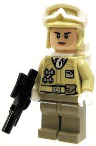 LEGO STAR WARS Hoth Rebel Trooper White Uniform 75259 sw1026