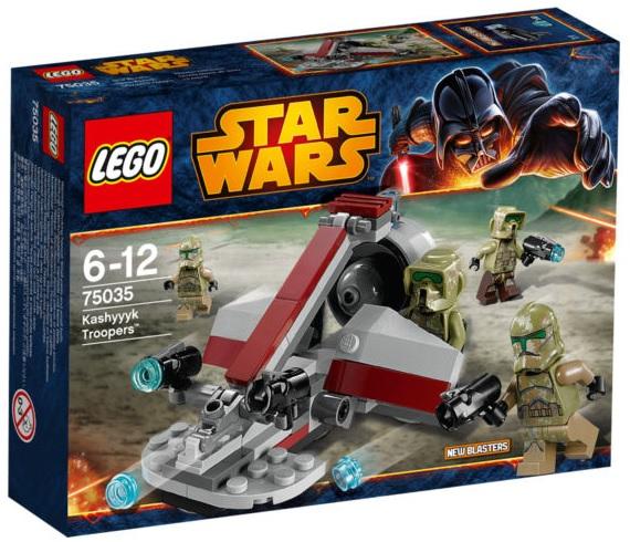 LEGO 75035 – Star Wars Kashyyyk Troopers